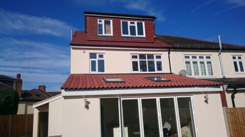 A loft conversion in upminster