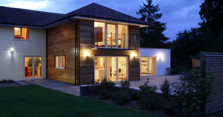 two storey extension