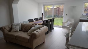 Extended Living Room in Upminster