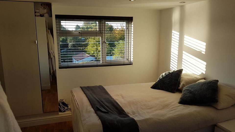 Loft Converted Bedroom in Upminster